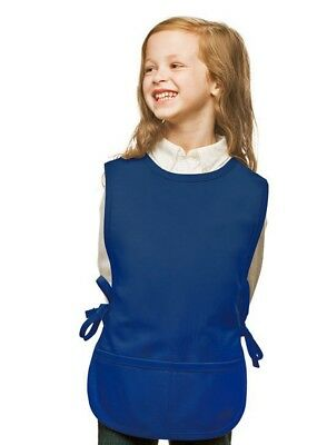Royal Blue Kids Cobbler Apron with High Quality Poly/Cotton Twill Fabric