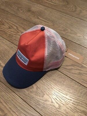 PATAGONIA WOMENS PASTEL P-6 Label Layback Trucker Hat Brand New ... 4b9d24ca1