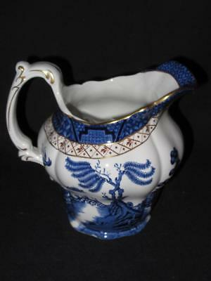 Booths Real Old Willow A8025 Pattern Large 1 Pint Jug 5.25 inches