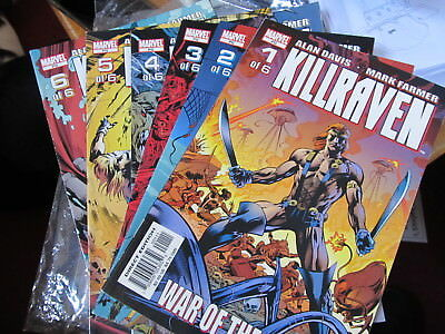 Killraven limited series 1 2 3 4 5 6 COMPLETE series Marvel
