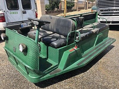 2008 Taylor Dunn TRAM 10 Person 820 Hours Used Batteries