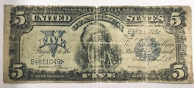 """1899 $5 """"Chief"""" Note"""