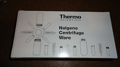 Nalgene 3119-0050 Polypropylene 50mL Oak Ridge Centrifuge Tube  10/pack Thermo