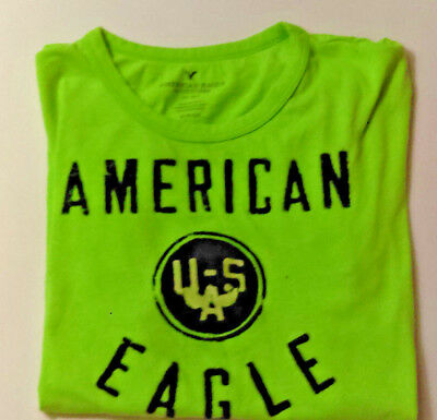 American Eagle Outfitter Bright Green Small T-Shirt