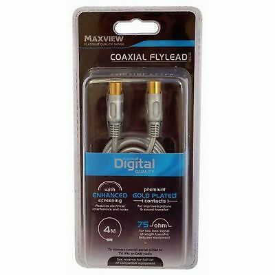Maxview 4m Digital Coaxial Flylead (MD859)