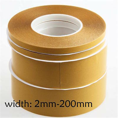 Super Thin Double-Sided Adhesive Tape Transparent High Temperature PET 2mm-200mm