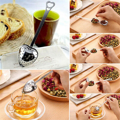 Stainless Steel Reusable Tea Infuser Loose Tea Leaf Herbal Spice Filter Diffuser
