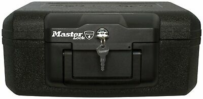 Master Lock L1200 Sentry A5 Fire Resistant Small Security Chest Plastic 5L