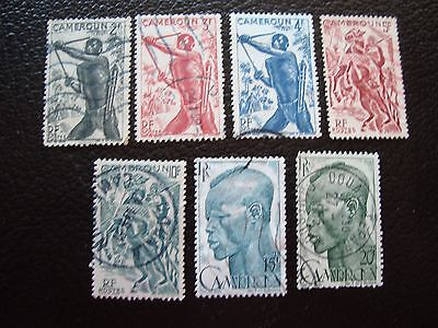 CAMEROON - stamp yvert and tellier n° 285 286 288 289 291 292 293 obl (A33) (T)