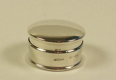 Sterling Silver Pill Box, 1922