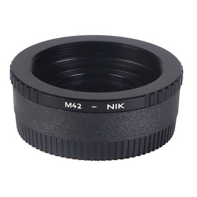 K&F Concept M42-NIKON Adapter Ring for M42 to Nikon F Mount Cameras w/ Glass
