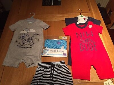 6-9 Month Boys Summer Bundle Mostly New items.