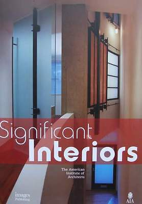 BOOK : Significant Interiors - The Alerican Institute of Architects architecture