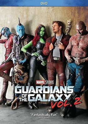 Guardians of the Galaxy Vol. 2(DVD, 2017) no case artwork free shippping
