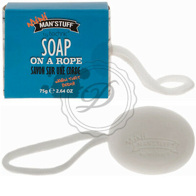 Mini Man'Stuff Soap On A Rope - Mens Gift Dad Boyfriend Fathers Day Clean Fresh