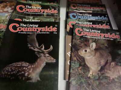The Living Countryside  A Weekly Nature Guide To The British Isles  1-57 (D)