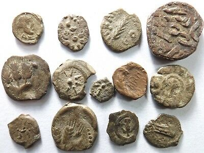 Lot of 13 Mostly Quality Judaean Coins; 22.1 Grams!