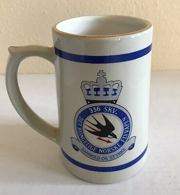 FIGGJO Norway Johan Thomsen 336 SKV Royal Norwegian Air Force Stein Mug