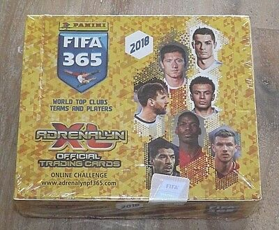 Panini FIFA 365 2018 Adrenalyn XL Official Trading Cards 1 Display / 24 Booster
