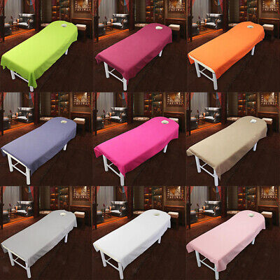 10Pcs Beauty Massage SPA Treatment Polyester Bed Table Cover Sheet 80cm*190cm