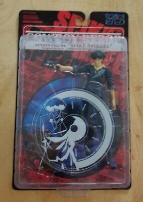 Cowboy Bebop Spike Spiegel Action Figure Made By Kaiyodo/XEBEC Unopened
