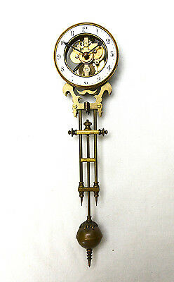 Mystery 8 DAY Swinging Skeleton Clock Movement Arm for Junghans Swinger