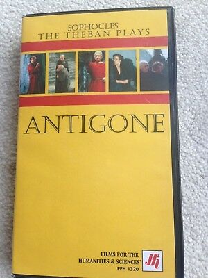 VHS Tape - Antigone - Sophocles The Theban Plays (Rare & Out of Print)