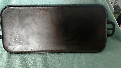 Vintage Griswold  Griddle Grill Cast Iron 745 A Erie PA Rectangular