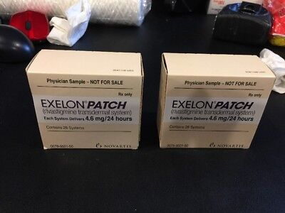 2 Rivastigmine Transdermal System EXELON PATCH 4.6 Mg/24 Hours