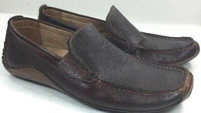 5891a4a7a0f Mens Steve Madden Driving Shoes Sz. 10 Leather Brown
