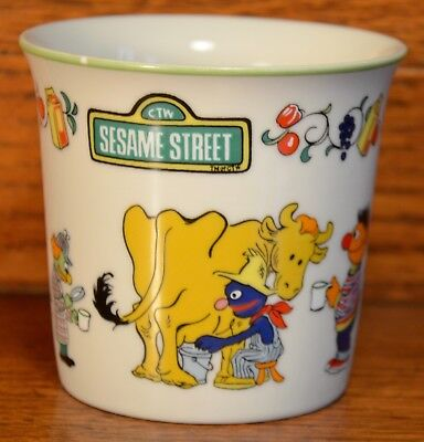 1976 Muppets Sesame Street Children's Cup by Gorham...Excellent Condition