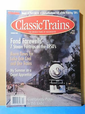 Classic Trains 2000 Summer Lake Erie Coal & Ore Trains Ads of the 20s