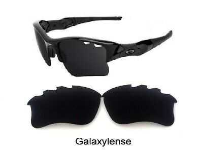 ae1f7c791ed7e Galaxy Replacement Lenses For Oakley Flak Jacket XLJ Vented Black Polarized