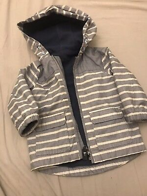 Baby Boys M&S Summer Coat 12-18 months