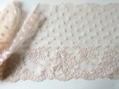 Vintage Wide Lace Trim Made in Holland 10 metres x 21cm