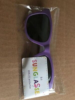 Girls sunglasses in purple, age 3+