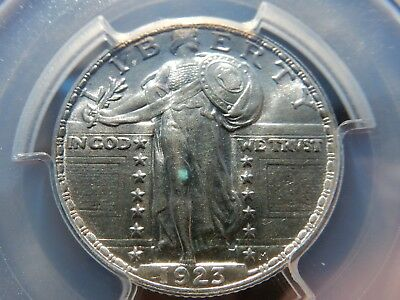 1923 Standing quarter PCGS graded as MS62 looks (FH)! FREE shipping, NEVER tax!!