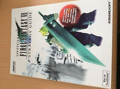 Final Fantasy VII Official Strategy Guide Brady Games - English