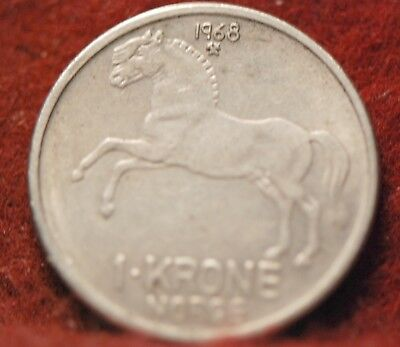 Norway, 1968 Krone, KM409, Extremely Fine, No Reserve,                      33eb