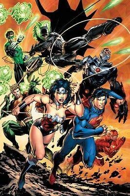 DC Comics Justice League Charge POSTER (61x91cm) NEW Print Art