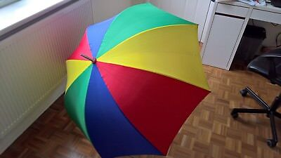 Multi-Coloured Golf Umbrella