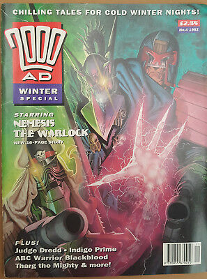 2000AD winter special no.4 comic book