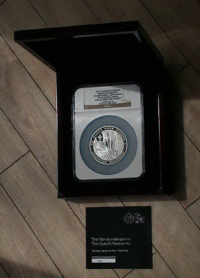 2013 Gr. Britain NGC PF69 Ultra Cameo Queen Elizabeth II Coronation 10 Pound rb