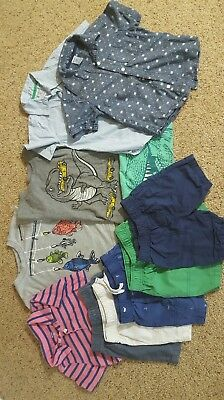 TODDLER BOY LOT OF 11 MIX 'n MATCH OUTFITS+ SIZES 3/3T SPRING/SUMMER