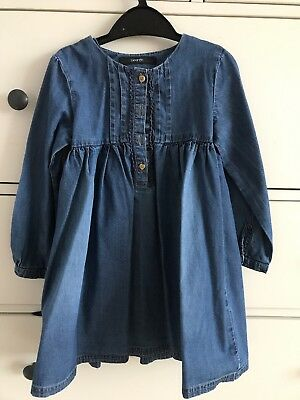 Long Sleeve Denim Dress 3 4 George Asda Eur 454 Picclick Fr