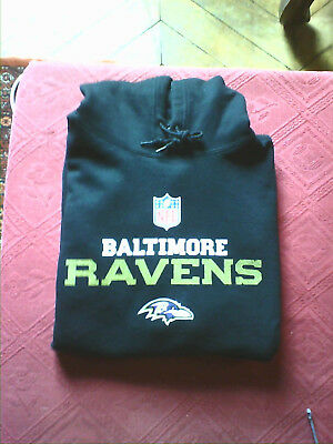 Sweat Capuche Hoodie Nfl Baltimore Ravens Taille L Adulte