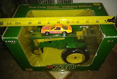 ERTL John Deere Row Crop Tractor Model 730 Collector Edition NIB 15820A 2006