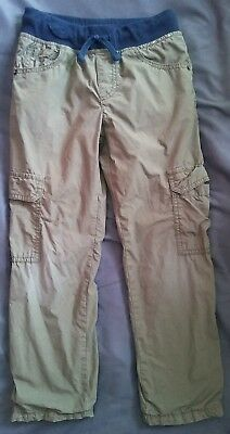 Boys jersey lined cargo pants Gymboree size 6 orig. price $36.95