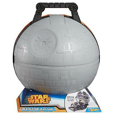NEW Hot Wheels Star Wars Death Star Portable Playset Display Carry Case Mattel
