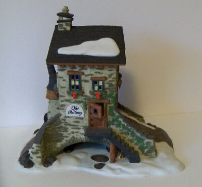 Dept 56 Dickens Village Maltings Christmas Lighted House RETIRED Bob Cratchet